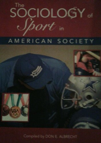 SOCIOLOGY OF SPORT IN AMER.SOC 1st edition cover