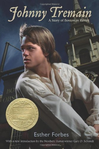 Johnny Tremain   2011 edition cover