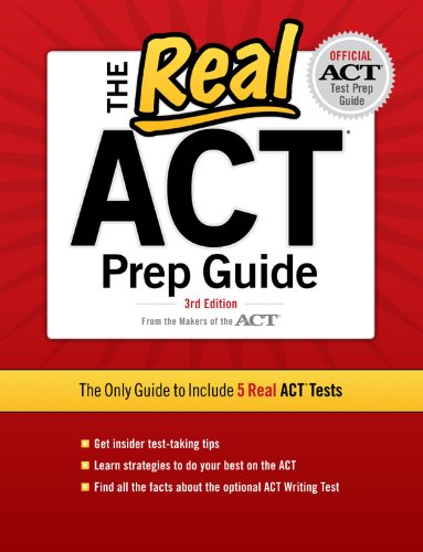Real ACT, 3rd Edition  3rd 9780768934328 Front Cover