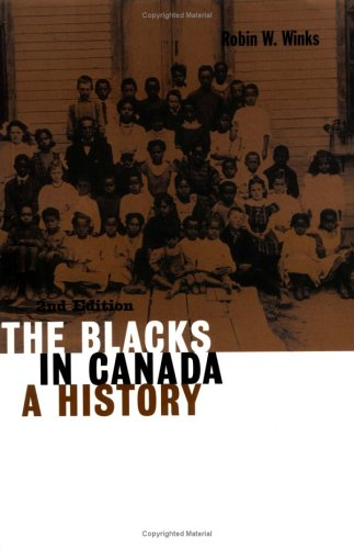 Blacks in Canada A History 2nd 1997 edition cover