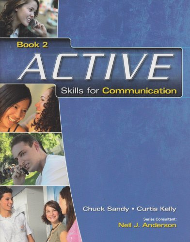 Active Skills for Communication Book 2   2009 edition cover