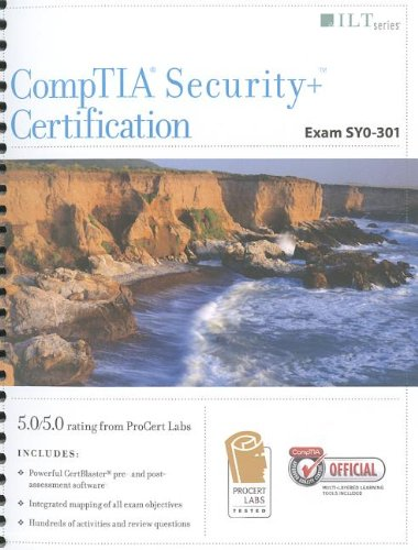 CompTIA Security+ Certification, Exam SY0-301 + CertBlaster, Student Manual  N/A edition cover