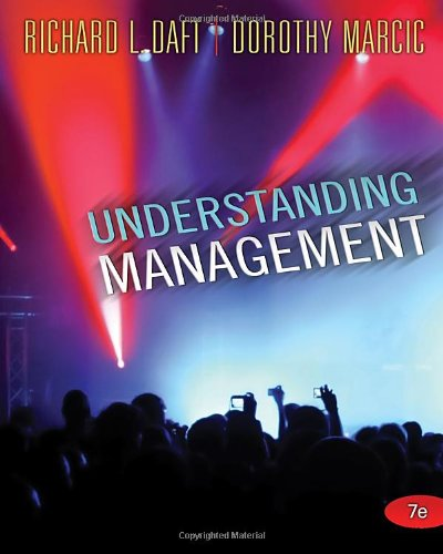 Understanding Management  7th 2011 edition cover