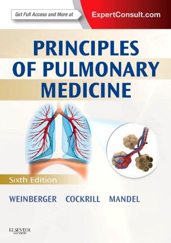 Principles of Pulmonary Medicine  6th 2014 edition cover