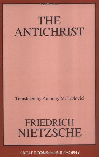 Antichrist   2000 (Unabridged) edition cover