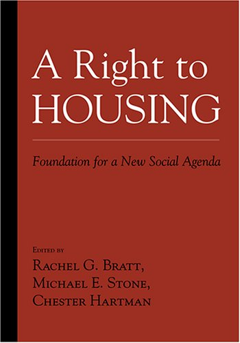 Right to Housing Foundation for a New Social Agenda  2006 edition cover