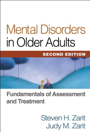 Mental Disorders in Older Adults, Second Edition Fundamentals of Assessment and Treatment 2nd 2007 (Revised) edition cover