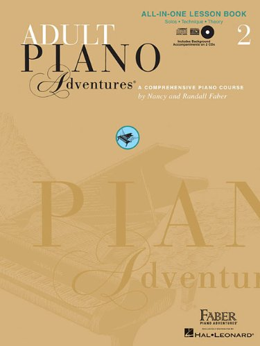 Adult Piano Adventures All-in-One Lesson  N/A edition cover