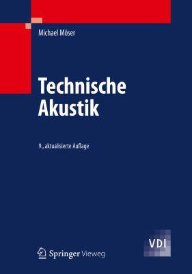 Technische Akustik:   2012 edition cover