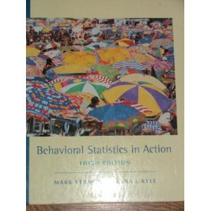 Behavioral Statistics in Action  3rd 2002 (Revised) edition cover