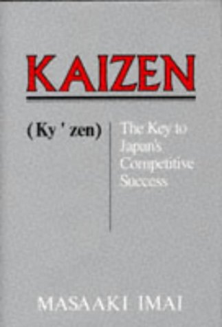 Kaizen The Key to Japan's Competitive Success  1988 edition cover