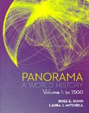 Panorama: A World History - Volume 1: to 1500 1st edition cover
