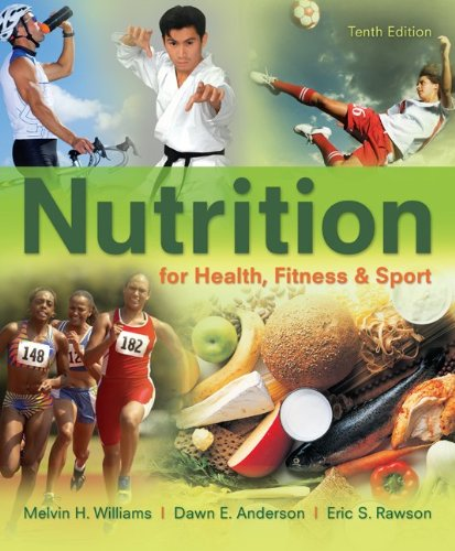 Nutrition for Health, Fitness and Sport  10th 2013 edition cover
