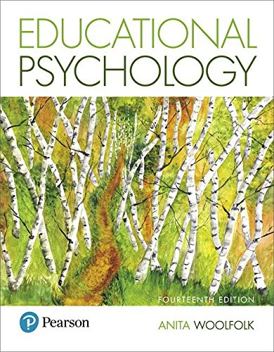 Educational Psychology  14th 2019 9780134774329 Front Cover