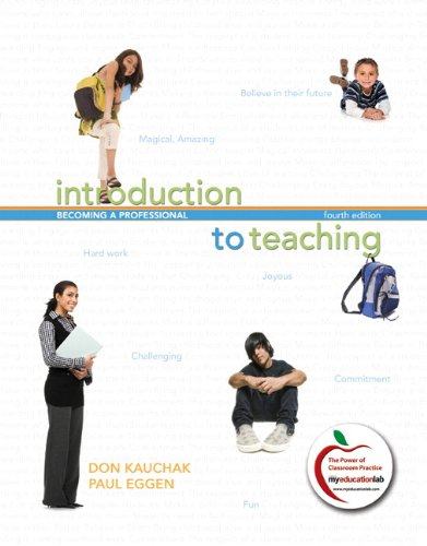 Introduction to Teaching Becoming a Professional 4th 2011 edition cover