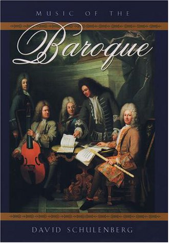 Music of the Baroque   2001 edition cover