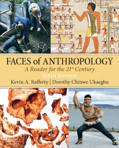 Faces of Anthropology  6th 2011 edition cover