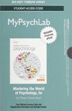 World of Psychology  5th 2014 edition cover