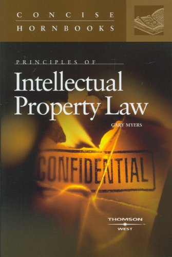 Principles of Intellectual Property Law  N/A edition cover