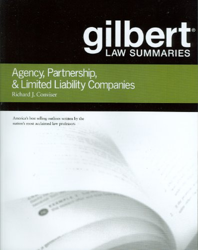 Gilbert Law Summaries on Agency, Partnership and LLCs  6th 2010 (Revised) edition cover