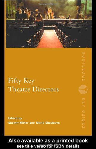 Fifty Key Theatre Directors   2005 edition cover