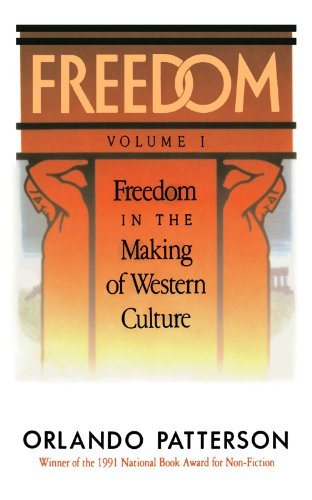 Freedom Freedom in the Making of Western Culture  1991 edition cover