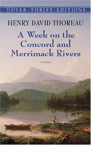 Week on the Concord and Merrimack Rivers   2001 edition cover