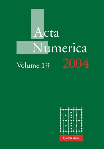 Acta Numerica 2004: Volume 13   2010 9780521174329 Front Cover