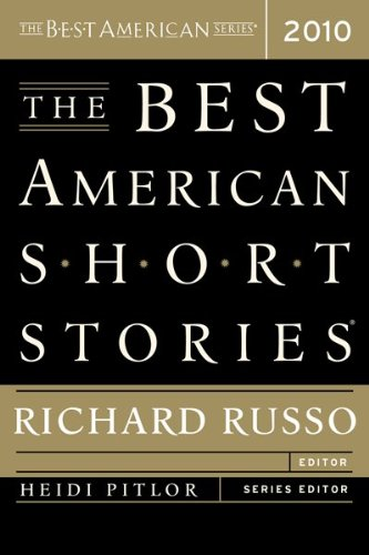 Best American Short Stories 2010   2010 edition cover