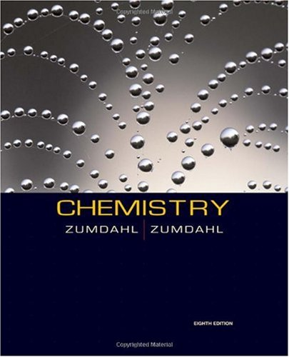 Chemistry  8th 2010 9780547125329 Front Cover