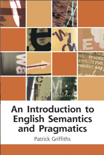 Introduction to English Semantics and Pragmatics   2006 edition cover