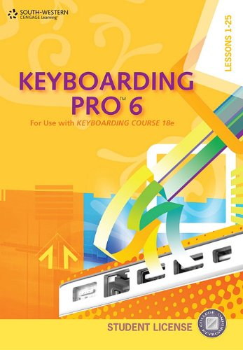 Keyboarding Pro 6, Student License (with User Guide and CD-ROM)  6th 2011 edition cover