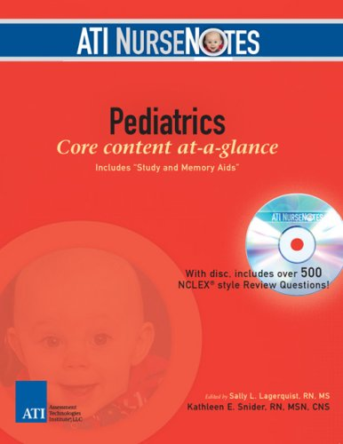 ATI NurseNotes Pediatrics  2007 edition cover
