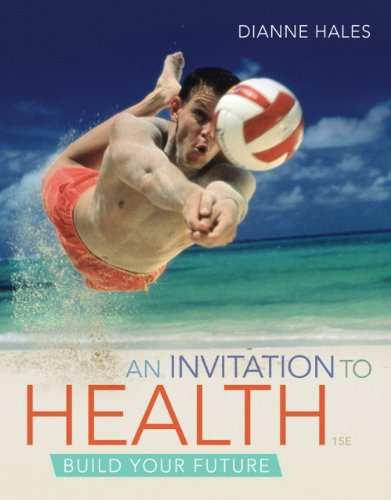 Student Course Guide for Journey to Health for Hales' an Invitation to Health  15th 2013 edition cover