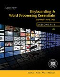 Keyboarding and Word Processing Essentials, Lessons 1-55 + Keyboarding Pro Deluxe Online Lessons 1-55, 1 Term 6 Month Printed Access Card:   2013 9781285576329 Front Cover