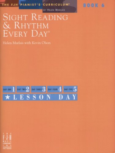 SIGHT READING+RHYTHM EVERYDAY N/A 9781569397329 Front Cover