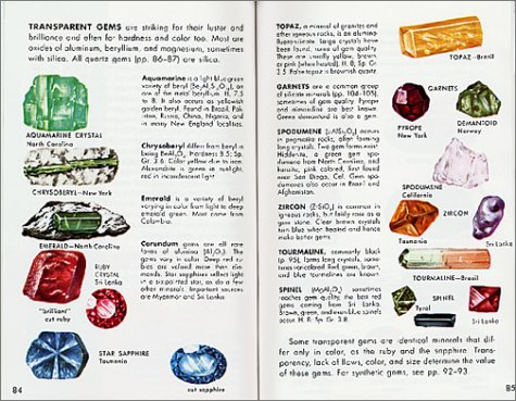 Rocks, Gems and Minerals   2001 (Revised) edition cover