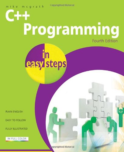 C++ Programming in Easy Steps  4th 2011 edition cover