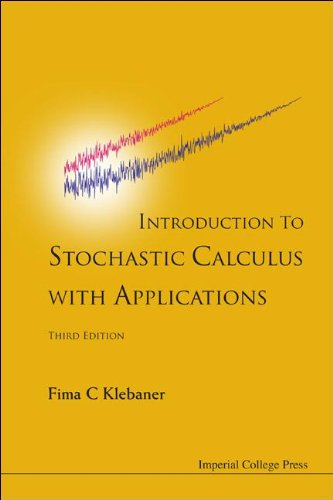 Introduction to Stochastic Calculus with Applications  3rd 2011 edition cover