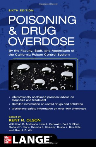 Poisoning and Drug Overdose  6th 2012 edition cover