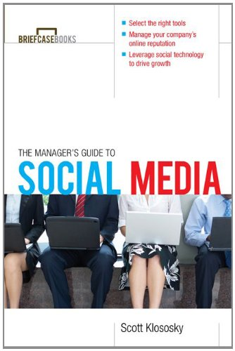 Manager's Guide to Social Media   2011 9780071754330 Front Cover