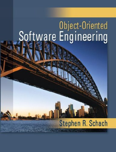 Object-Oriented Software Engineering   2008 edition cover