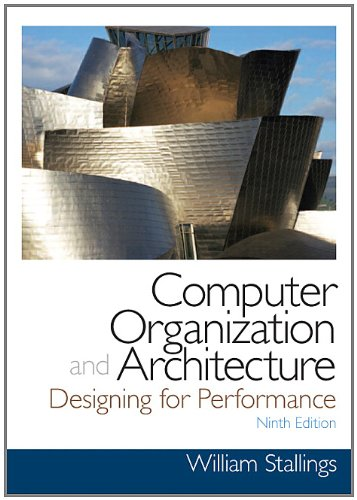 Computer Organization and Architecture  9th 2013 (Revised) edition cover