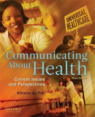 Communicating about Health Current Issues and Perspectives 3rd 2009 edition cover
