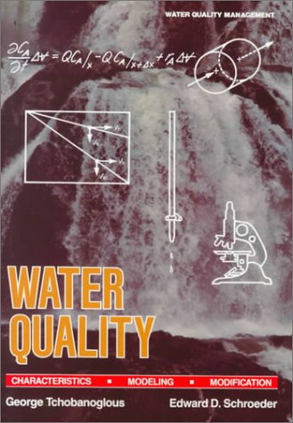 Water Quality Characteristics Modeling and Modification  1985 edition cover