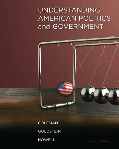 Understanding American Politics and Government  2nd 2011 9780205829330 Front Cover