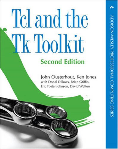 Tcl and the Tk Toolkit  2nd 2010 edition cover