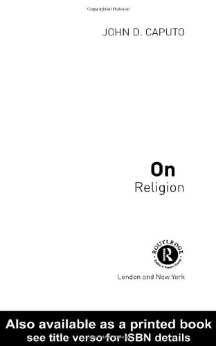 On Religion   2001 9780415233330 Front Cover
