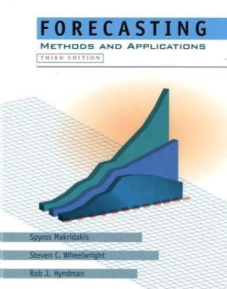 Forecasting Methods and Applications 3rd 1998 (Revised) edition cover