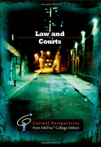 Law and Courts Current Perspective from Infotrac  2011 edition cover